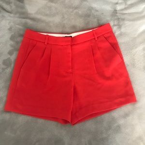 red crew shorts